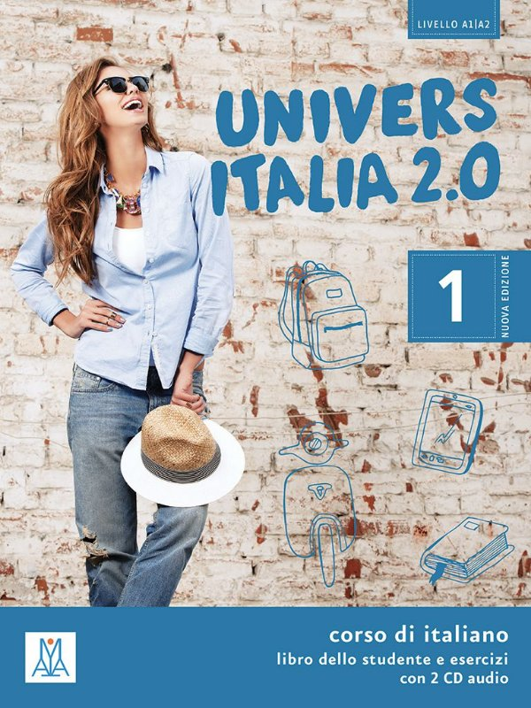 UniversItalia 2.0 - A1/A2 - Libro dello studente e esercizi + CD Audio