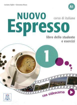 Nuovo Espresso 1 - Libro Studente + DVD-ROM - A1