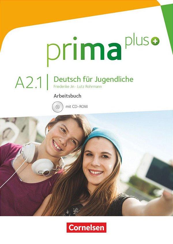Prima Plus A2/1 - Arbeitsbuch mit CD-ROM