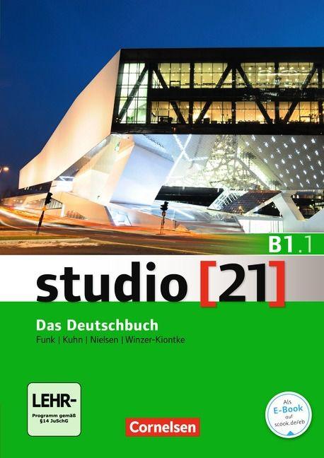 Studio 21 B1: Teilband 1 - Kurs- und Übungsbuch mit DVD-ROM (VERSÃO SEMESTRAL PARTE 1)