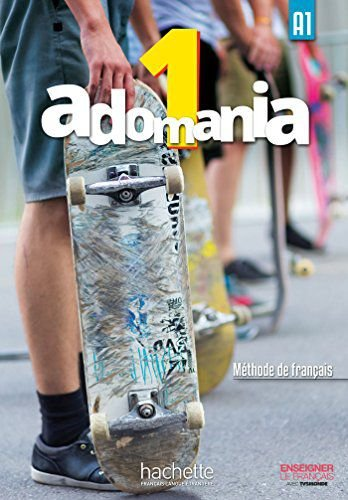 Adomania 1 - Livre de lï'lŠve + DVD-ROM - A1