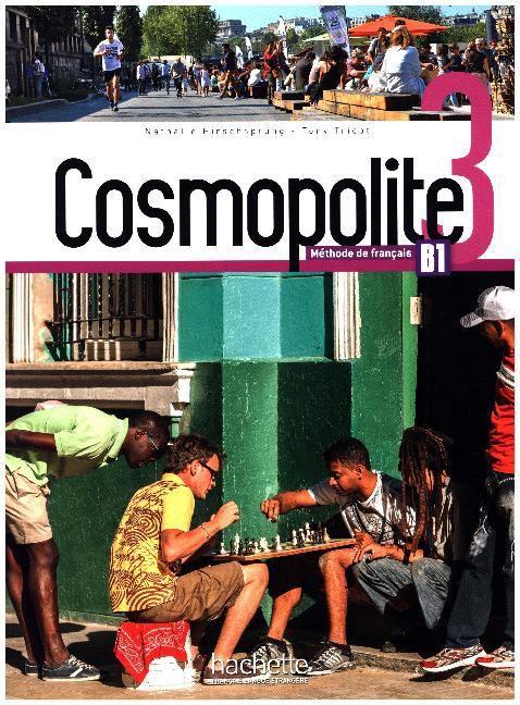 Cosmopolite 3 - Livre de lï'lŠve + DVD-ROM - B1