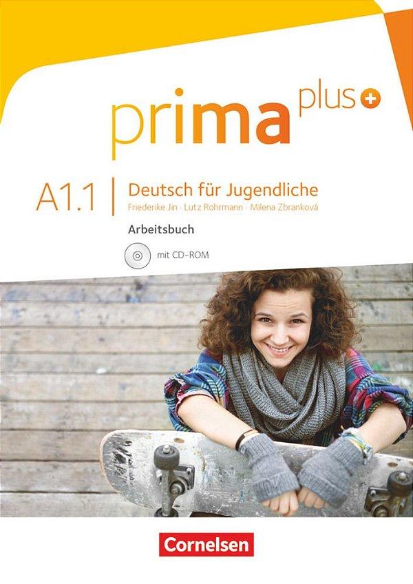 Prima Plus A1/1 - Arbeitsbuch mit CD-ROM