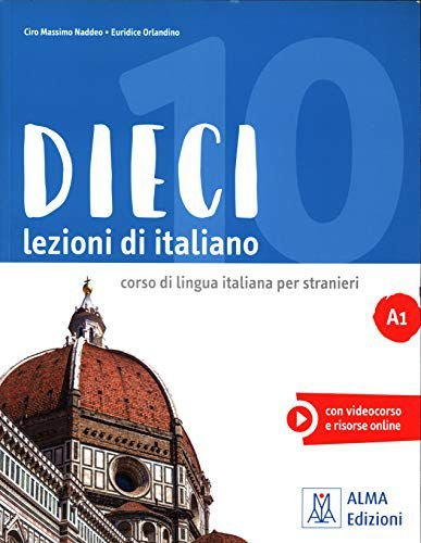 Dieci A1 - Libro dello studente e esercizi + DVD