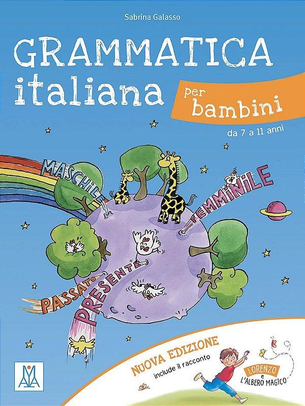 Grammatica italiana per bambini (de 7 a 11 anos)