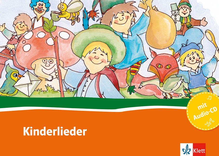Kinderlieder - Buch + Audio-CD