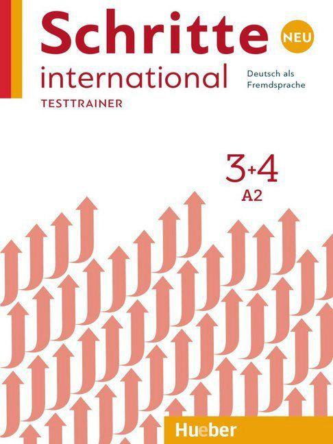 Schritte International Neu 3+4 - Testtrainer mit Audio-CD