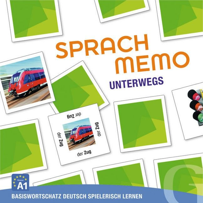 Sprachmemo Deutsch: Unterwegs