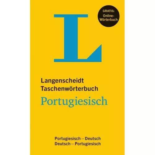 LANGENSCHEIDT TASCHENWORTERBUCH PORTUGIESISCH