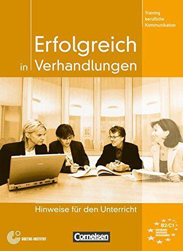 Erfolgreich in Verhandlungen - Hinweise fr den Unterricht