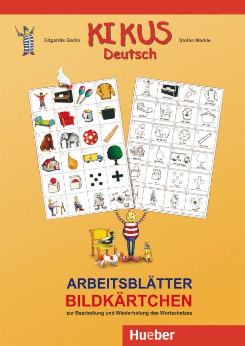 Kikus Deutsch - Arbeitsblätter - Bildkärtchen