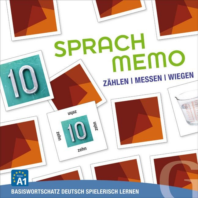 "Sprachmemo Deutsch: Z""hlen, Messen, Wiegen"