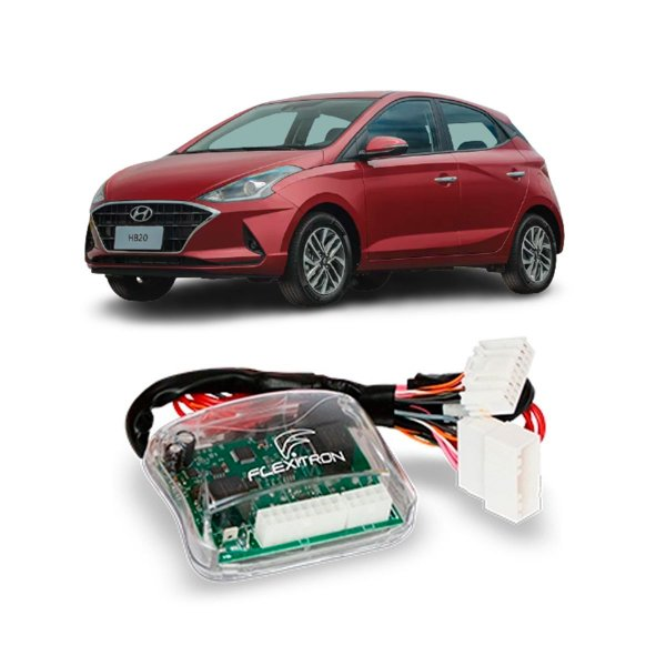 Módulo Subida Vidro Hyndai Hb20 2020 Plug And Play 4 Portas - SAFE HY-HB 4.1