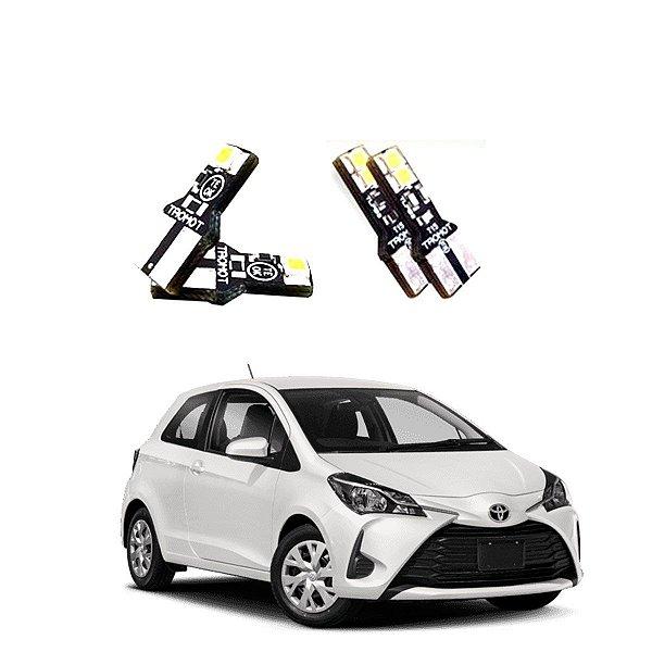 Kit Led Lampadas Toyota Yaris Xls e Nissan Kicks Internos E Externos