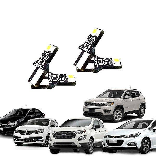 Kit Iluminação LED Sandero, Logan, Cruze, Compass, Ecosport Tromot TKL-RNLT1