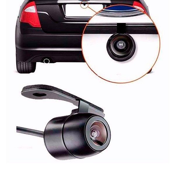 Mini Camera de Ré Embutir no Para Choque e Borboleta Colorida