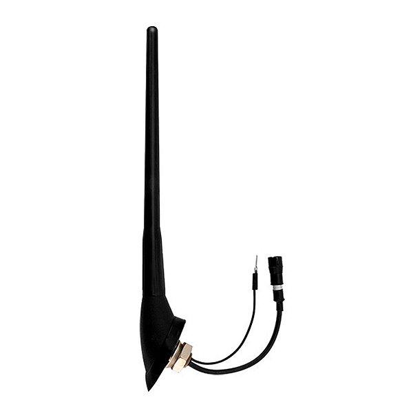 Antena Teto Dianteira Amplificada Corsa Montana Agile Meriva Conector Raku