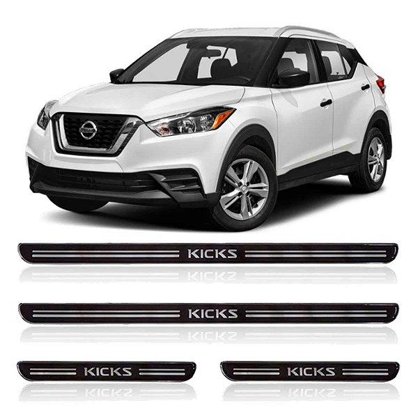 Soleira Nissan Kicks Resinada