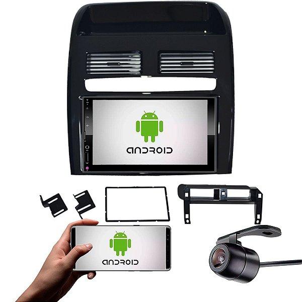 Central Multimídia Fiat Linea 2008 a 2014 Black Piano Com Sistema Android