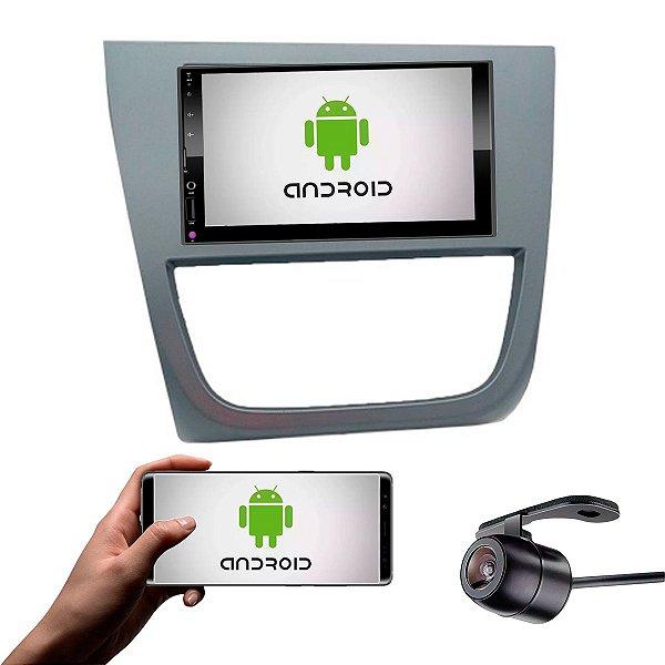 Central Multimídia Saveiro Cross G5 2010 a 2013 Grafite Com Sistema Android