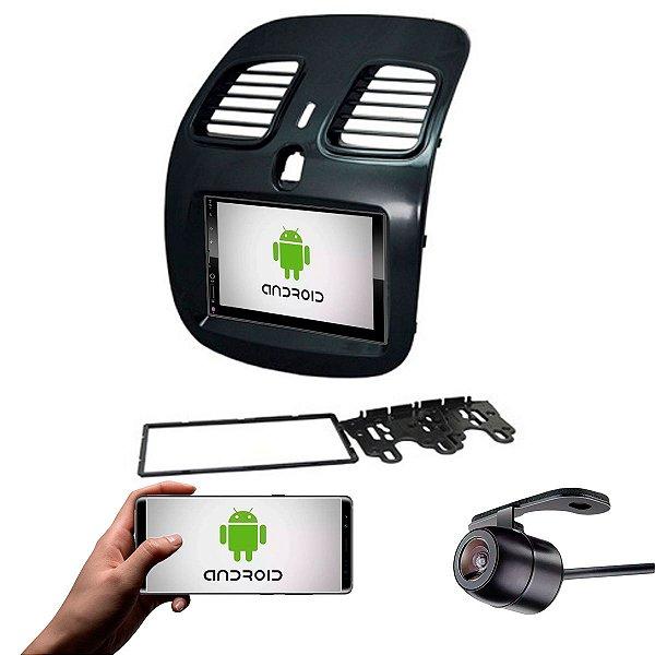 Central Multimídia Grand Siena 2014 a 2021 Black Piano Sistema Android
