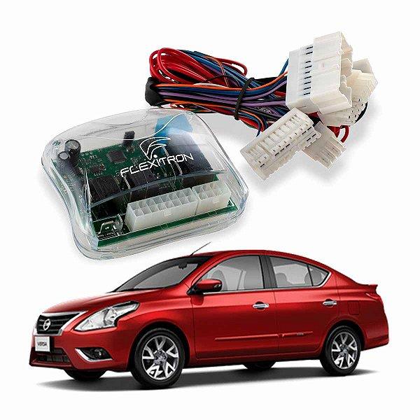 Módulo Vidro Central Nissan Versa 2011 a 2020 2 Vidros Plug Play