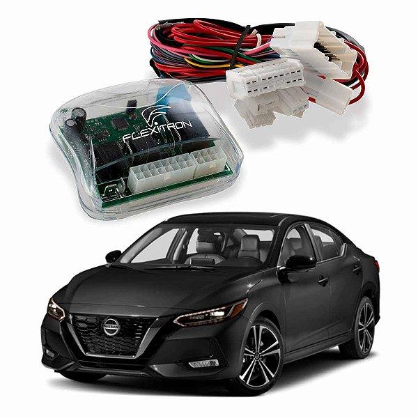 Módulo de Vidro Central Nissan Sentra 2013 a 2020 Plug Play - SAFE NS-ST 4.0