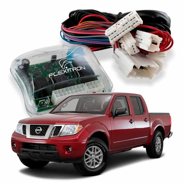 Módulo de Vidro Central Nissan Frontier 2017 a 2020 Plug Play
