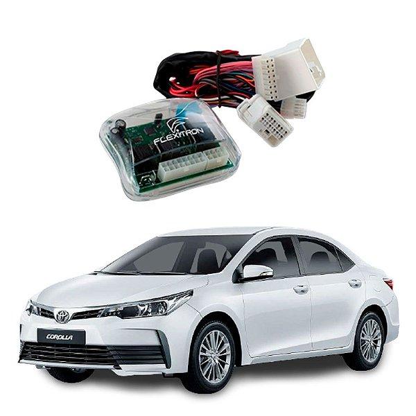 Módulo de Vidro Central Corolla GLI 2015 a 2019 e Rav4 2010 a 2019 - SAFE TY-CR 4.2