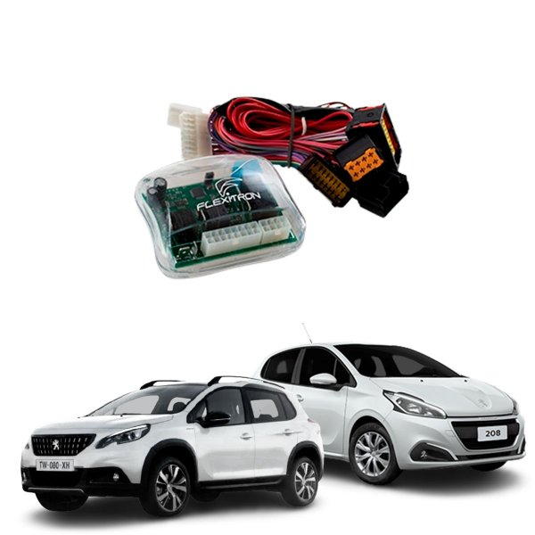 Módulo de Vidro Central Peugeot 208 e 2008 Plug Play - SAFE PG-28 4.0