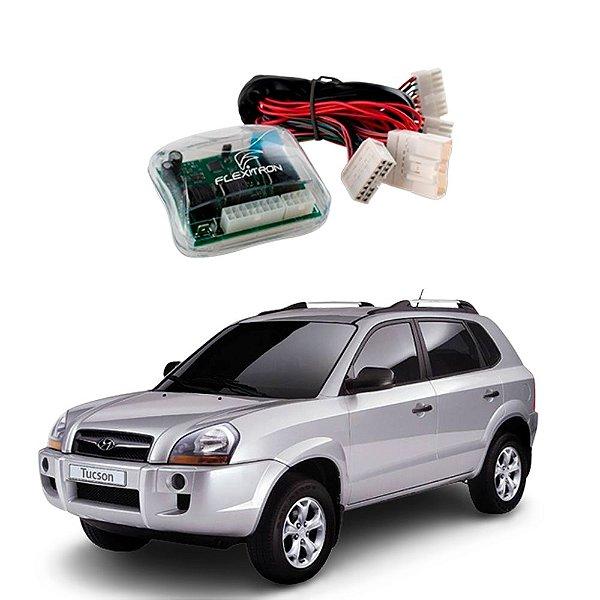 Módulo de Vidro Central Hyundai Tucson 2006 a 2016 Plug Play