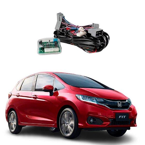 Módulo de Vidro Central Honda Fit EX e EXL 2018 a 2020 Plug Play