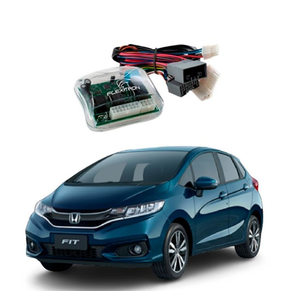 Módulo de Vidro Central Honda Fit 2015 a 2020 Plug Play