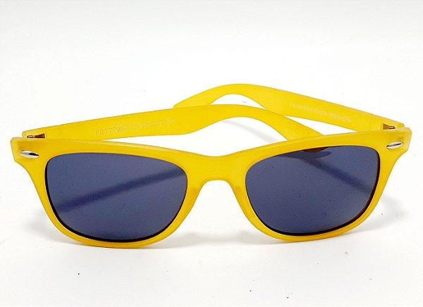 Óculos De Sol Adulto Com Armação Em Acetato - Amarelo