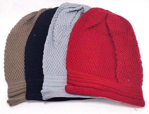 Touca De Lã Adulto - Colorido