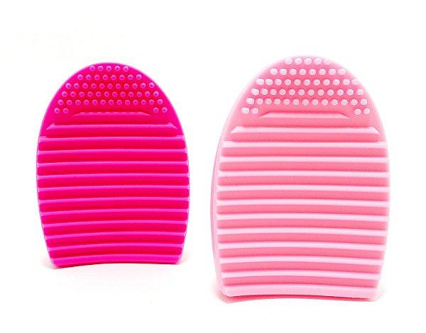 Esponja De Silicone Para Limpeza Facial Colorido - Angel