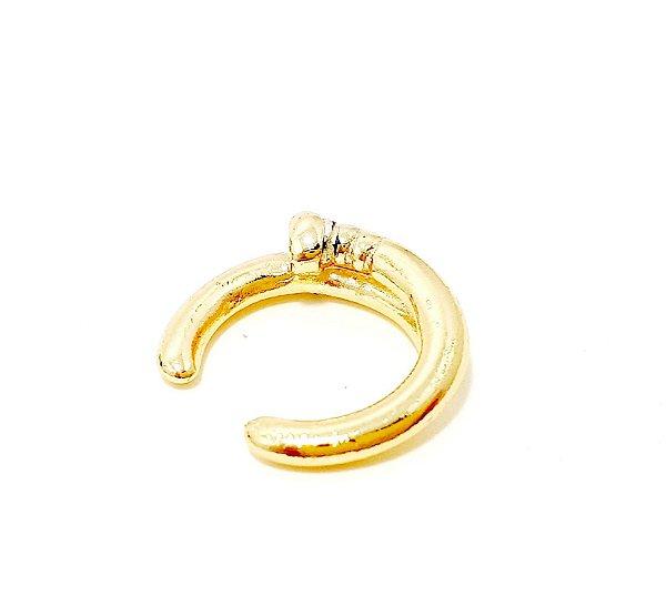 Piercing Fake Argolinha Dupla - Dourado