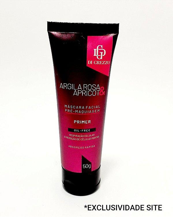Máscara Facial Argila Rosa E Apricot - Di Grezzo