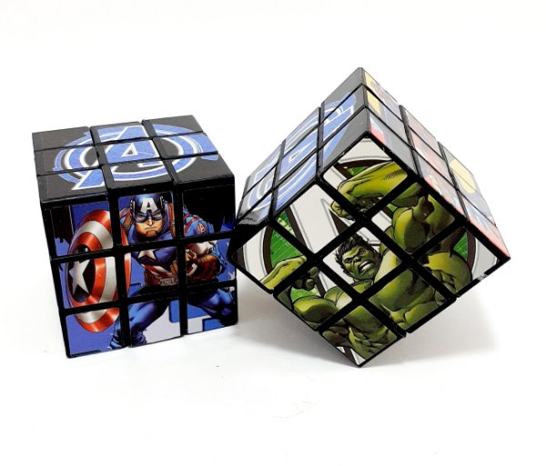 2 Cubos Mágicos Os Vingadores - Etitoys