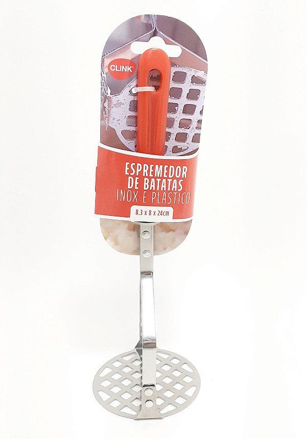 Espremedor De Batata De Aço Inox E Cabo De Plástico - Clink