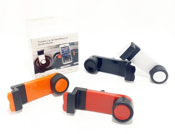 Suporte De Celular Veicular Para Saída De Ar De Plástico - Colorido
