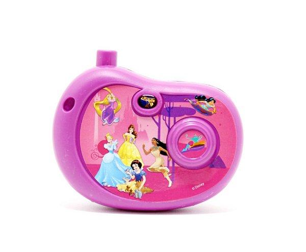 Câmera Fotográfica Infantil Com Imagem Princesas - Etitoys