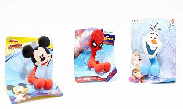 Porta Escova De Dentes Com Ventosa De Plástico - Personagens
