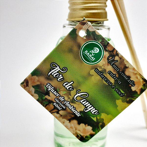 Difusor De Ambiente Odorizante Com 2 Palitos E 6ml- Flor Do Campo - Ramas