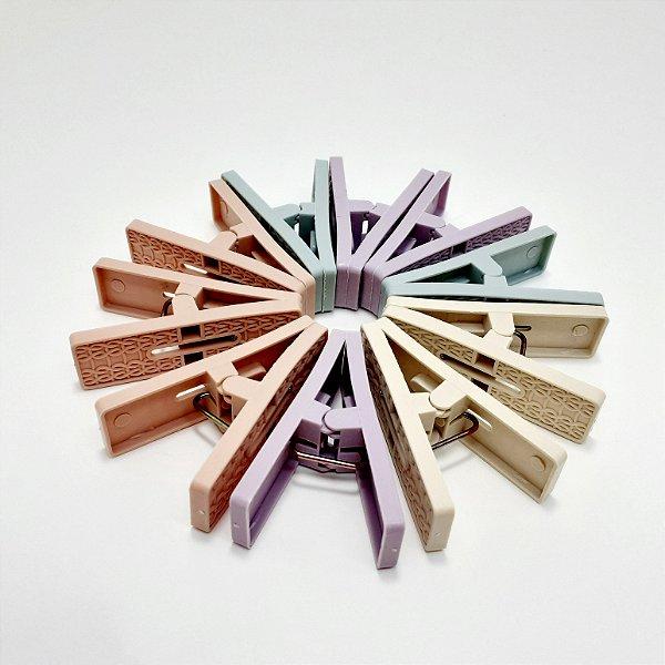 Pacote Com 10 Pregadores Coloridos