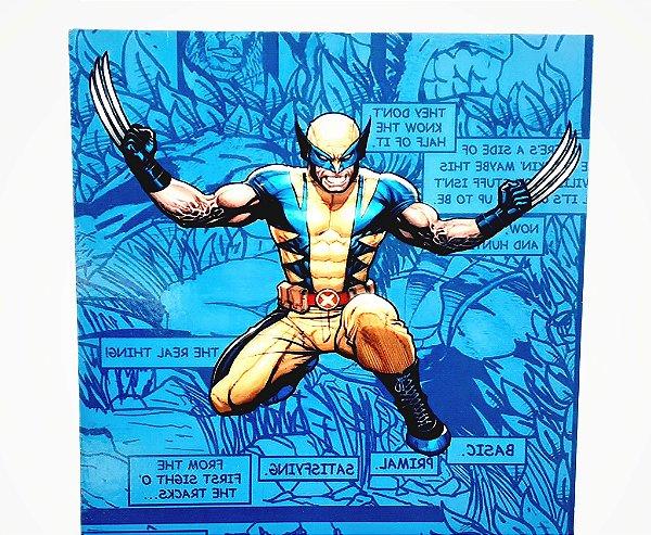 Placa Decorativa Heróis  - Wolverine