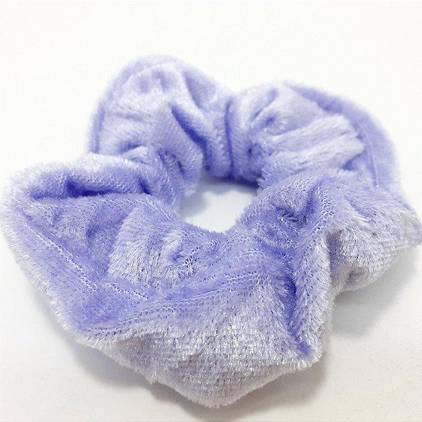 Elástico Para Cabelo De Camurça Lilás - Scrunchie