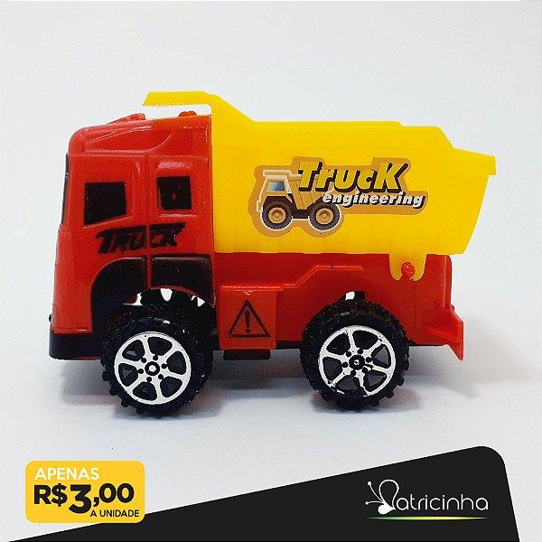Caminhãozinho De Brinquedo De Plástico Com Caçamba - Vermelho