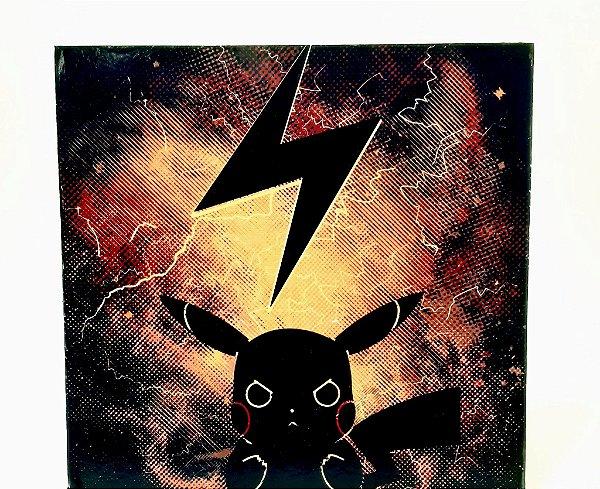 Quadro Decorativo Em MDF - Temático Pokemon