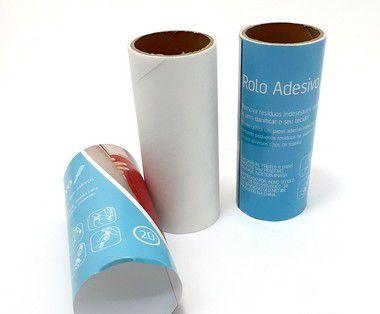 Embalagem Com 2 Refis Para Rolo Adesivo Tira Pelos - Novo Século